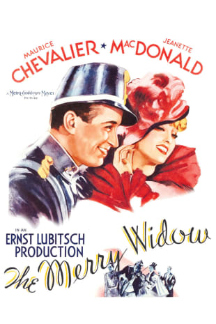 movie poster for The Merry Widow