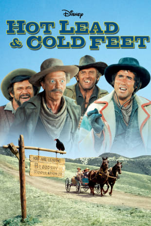 movie poster for Hot Lead And Cold Feet
