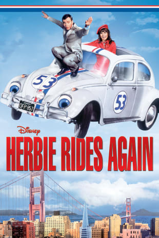 movie poster for Herbie Rides Again