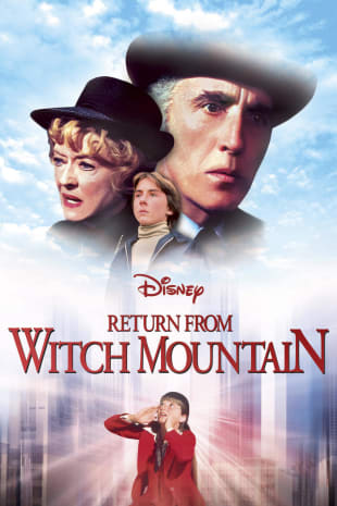 movie poster for Return From Witch Mountain