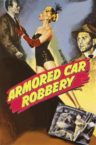 movie poster for Armored Car Robbery