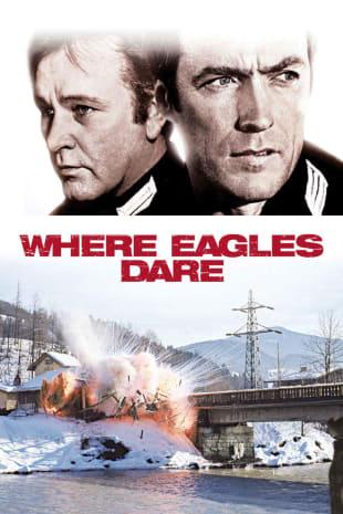 movie poster for Where Eagles Dare (1968)