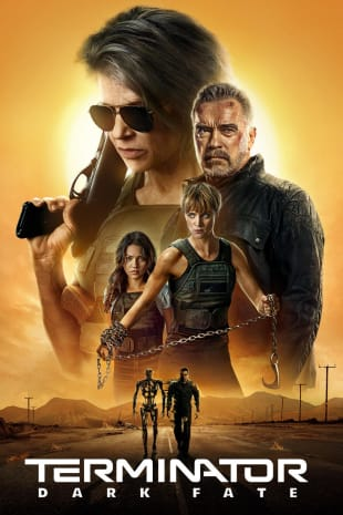 movie poster for Terminator: Dark Fate