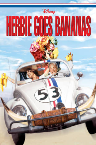 movie poster for Herbie Goes Bananas