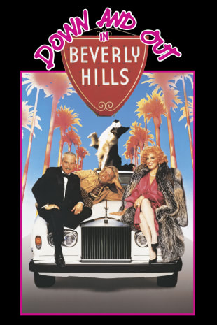 movie poster for Down and Out in Beverly Hills