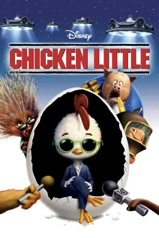movie poster for Chicken Little