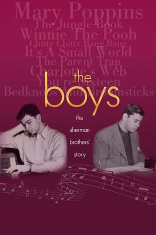 movie poster for The Boys: The Sherman Brothers' Story