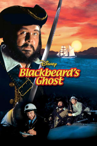 movie poster for Blackbeard's Ghost