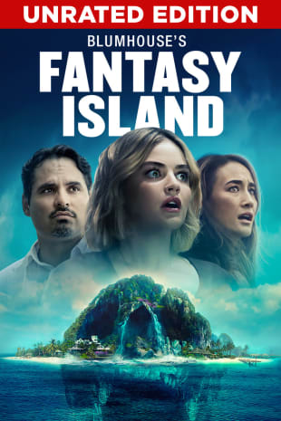 movie poster for Blumhouse's Fantasy Island (Unrated Edition)