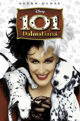 movie poster for 101 Dalmatians (1996)