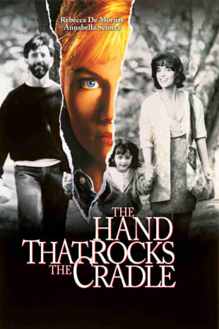 movie poster for The Hand That Rocks the Cradle