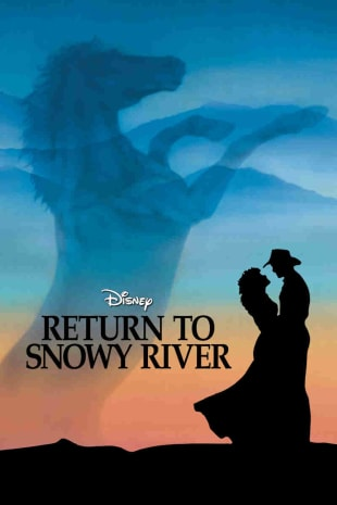 movie poster for Return to Snowy River