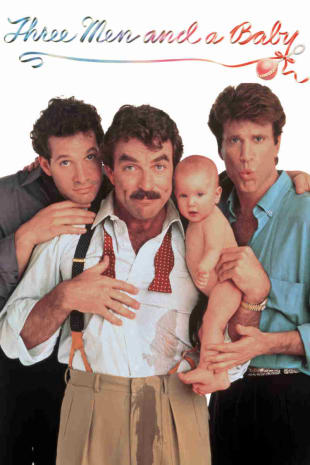 movie poster for Three Men and a Baby