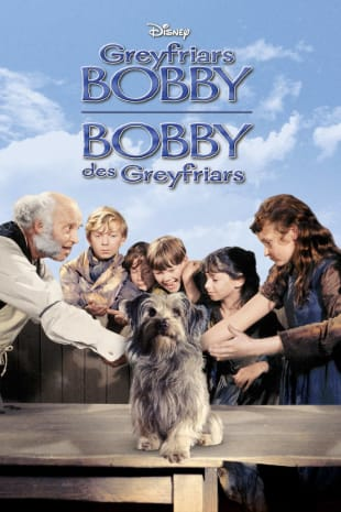 movie poster for Greyfriars Bobby: The True Story of a Dog