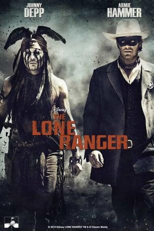 movie poster for Lone Ranger