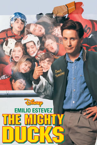 movie poster for The Mighty Ducks