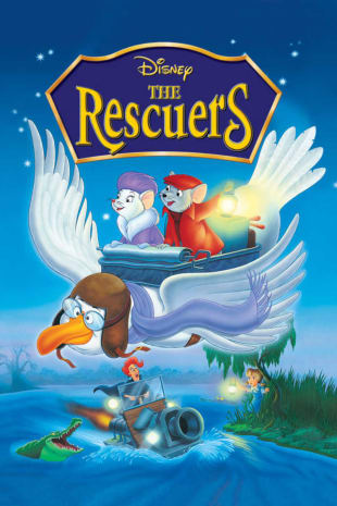movie poster for The Rescuers (1983)