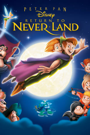 movie poster for Return To Never Land