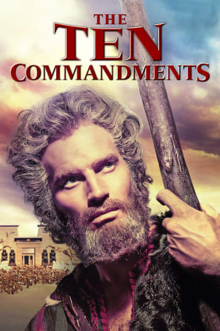 movie poster for The Ten Commandments (1956)