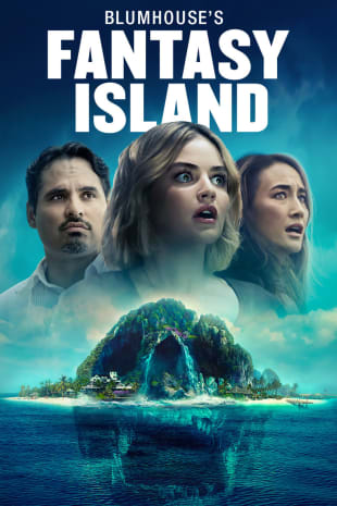 movie poster for Blumhouse's Fantasy Island