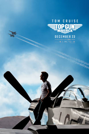 movie poster for Top Gun Maverick