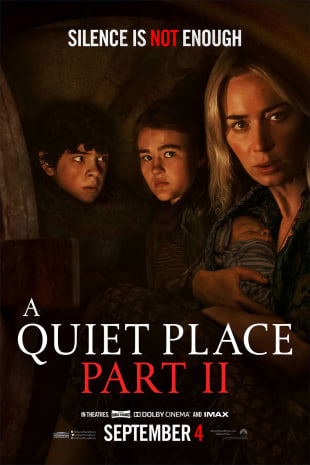 movie poster for A Quiet Place Part II