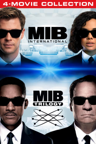 movie poster for Men In Black 4-Movie Collection