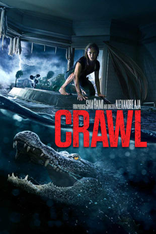 movie poster for Crawl