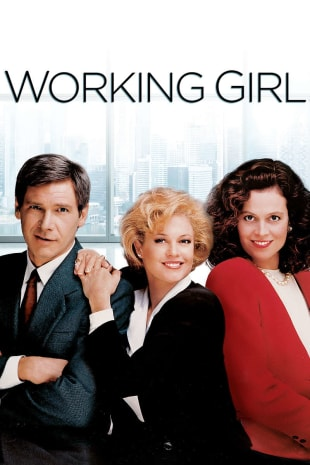 movie poster for Working Girl