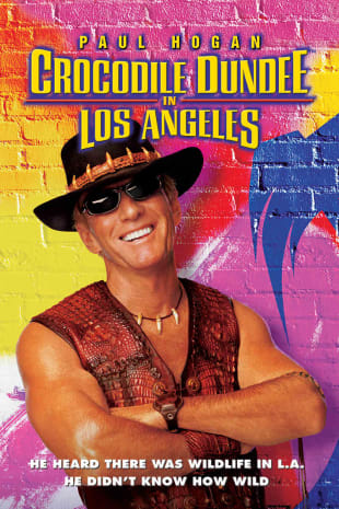 movie poster for Crocodile Dundee In Los Angeles
