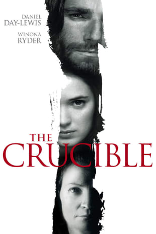 movie poster for The Crucible