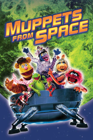 movie poster for Muppets From Space