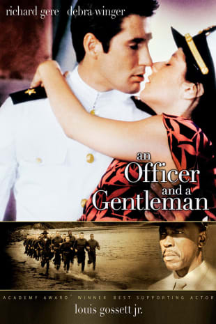 movie poster for AN Officer And A Gentleman