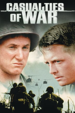 movie poster for Casualties of War
