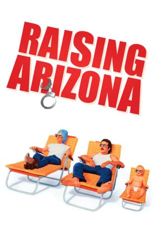 movie poster for Raising Arizona
