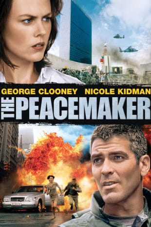 movie poster for The Peacemaker