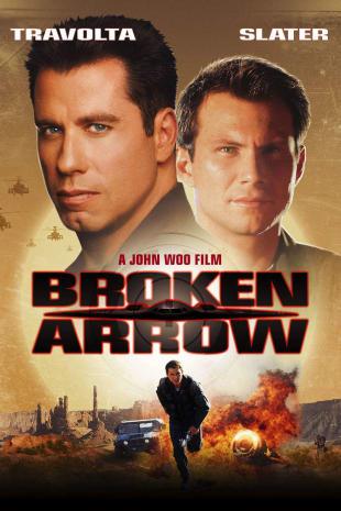 movie poster for Broken Arrow
