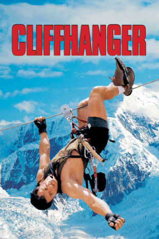 movie poster for Cliffhanger
