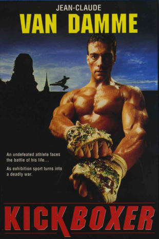 movie poster for Kickboxer