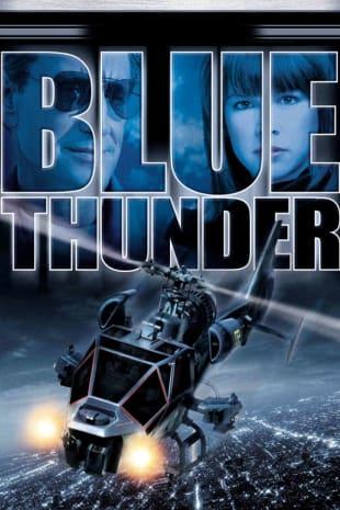 movie poster for Blue Thunder