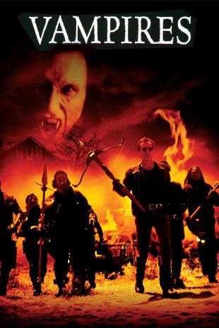 movie poster for John Carpenter's Vampires