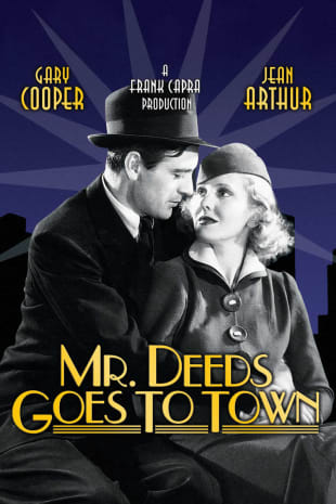 movie poster for Mr. Deeds Goes To Town