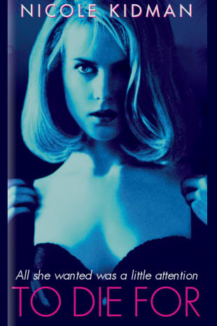 movie poster for To Die For (1995)