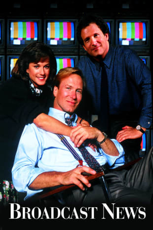 movie poster for Broadcast News