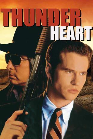 movie poster for Thunderheart