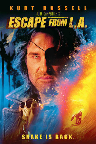 movie poster for Escape From L.A.