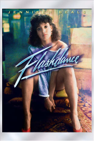movie poster for Flashdance