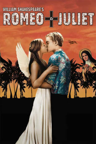 movie poster for Romeo + Juliet
