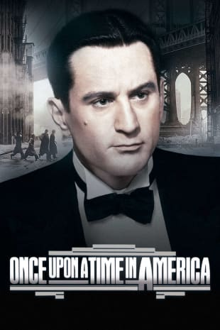 movie poster for Once Upon A Time In America (1984)