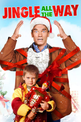 movie poster for Jingle All the Way